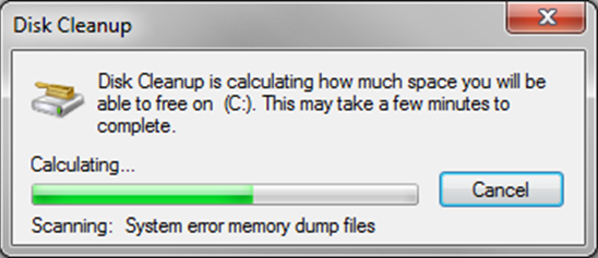 disk cleaning